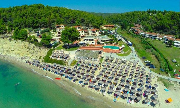 Προσφορά από 86€ ανά διανυκτέρευση με πρωινό ή με Ημιδιατροφή για 2 ενήλικες (και 1 παιδί έως 12 ετών) στο 4* Elani Bay Resort