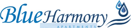 Blue Harmony Apartments logo