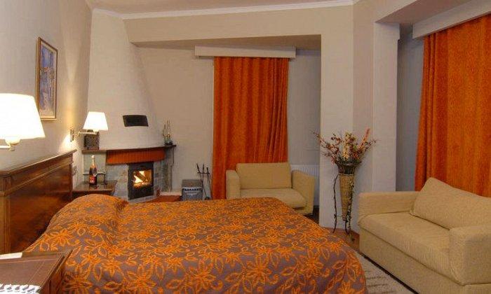 Πασχα απο 210€ για 2 διανυκτερευσεις με Ημιδιατροφη για 2 ενηλικες (και 1 παιδι εως 5 ετων) Ισχυει για Πασχα στο Mythos Mountain Hotel
