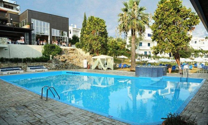 Προσφορά από 147€ ανά διανυκτέρευση ALL INCLUSIVE για 2 ενήλικες και 1 παιδί έως 7 ετών στο 4* Hotel Kriopigi