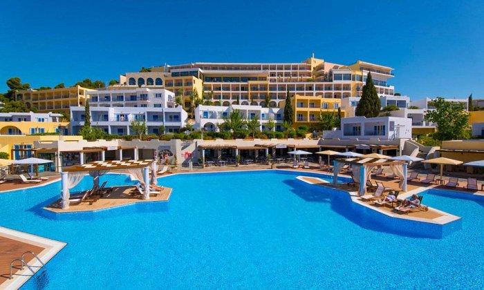Προσφορά 28η Οκτωβρίου από 93€ ανά διανυκτέρευση με ALL INCLUSIVE για 2 ενήλικες (και 1 παιδί έως 12 ετών) Ισχύει από 1/10 έως 31/10 και για 28η Οκτωβρίου στο 4* Mare Nostrum Hotel Club Thalasso εικόνα