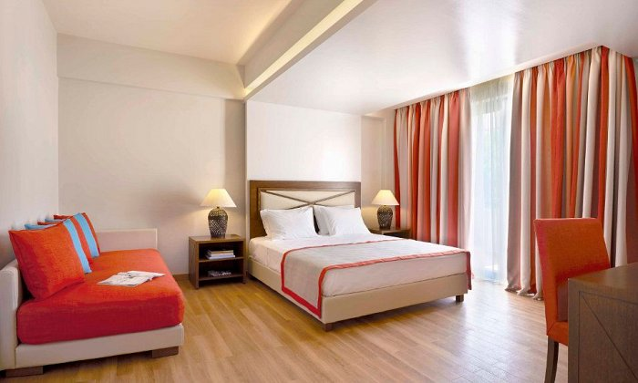 απο 110€ ανα διανυκτερευση με Ημιδιατροφη για 2 ενηλικες (και 1 παιδι εως 12 ετων) Ισχυει εως 30/04 εκτος Πασχα στο 5* Alkyon Resort Hotel & Spa