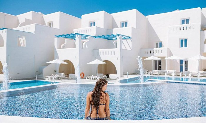 4* Naxian Emerald Hotel | Άγιος Προκόπιος, Νάξος