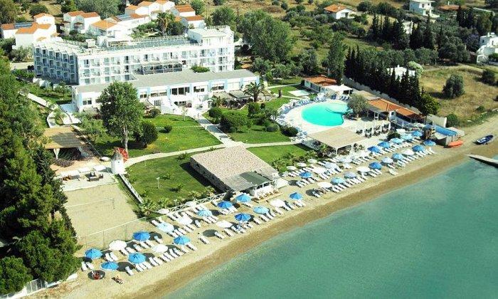 από 70€ ανά διανυκτέρευση με Ημιδιατροφή για 2 ενήλικες και 1 παιδί έως 12 ετών Ισχύει έως 31/10 εκτός 28η Οκτωβρίου στο Grand Bleu Sea Resort