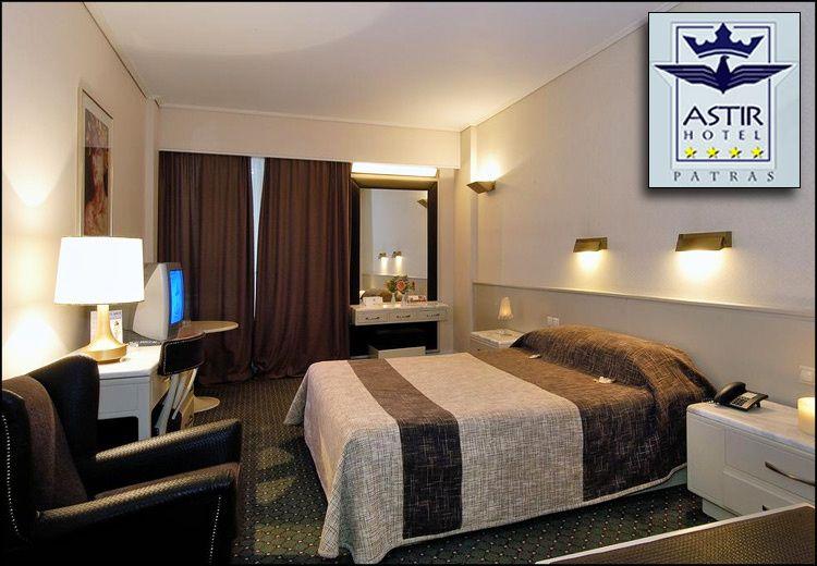 Χριστούγεννα - Πρωτοχρονιά - Φώτα στην Πάτρα στο 4* Astir Hotel με 55€ ανά διανυκτέρευση με πρωινό σε δίκλινο δωμάτιο για 2 ενήλικες και 1 παιδί έως 7 ετών! Παρέχεται early check-in / late check-out κατόπιν διαθεσιμότητας! Η προσφορά ισχύει για διαμονή από 23 Δεκεμβρίου έως 8 Ιανουαρίου εικόνα