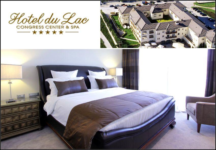 Θεοφάνεια στα Ιωάννινα στο 5* Du Lac Hotel Congress Center & Spa με 338€ για 4 ημέρες - 3 διανυκτερεύσεις με Ημιδιατροφή (πρωινό και δείπνο σε μπουφέ) σε δίκλινο δωμάτιο για 2 ενήλικες και 1 παιδί έως 5 ετών! Προσφέρονται εορταστικό καλοσώρισμα κατά την άφιξη και εορταστικά πακέτα στις υπηρεσίες SPA! Προβολή παιδικών ταινιών για τους μικρούς φίλους! Η προσφορά