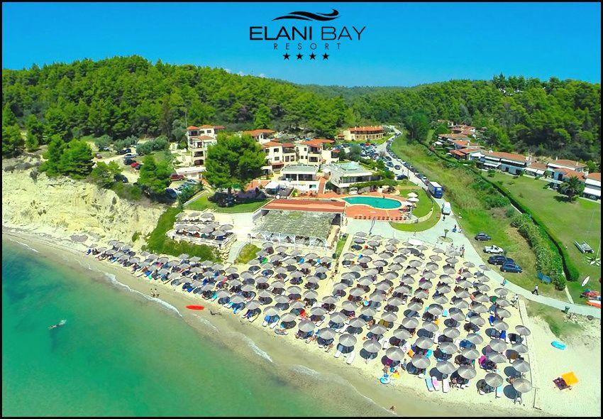 Διαμονη στη Χαλκιδικη στο παραθαλασσιο 4* Elani Bay Resort με 179€ για 3 ημερες – 2 διανυκτερευσεις με Ημιδιατροφη (καθημερινα πρωινο και δειπνο) σε δικλινο δωματιο για 2 ενηλικες! Δυνατοτητα και για διαμονη με 205€ σε One Bedroom Suite (περιλαμβανει κρεβατοκαμαρα και ξεχωριστο καθιστικο με ανοιγομενο καναπε – κρεβατι) για 2 ενηλικες και 1 παιδι εως 12 ετων! Παρεχεται Εarly checkin απο τις 10.00 και Late check out εως τις 15.00! Υπαρχε…