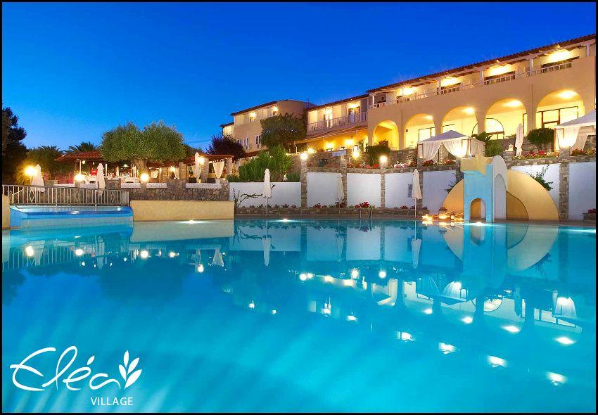 ALL INCLUSIVE διακοπες στην Ακτη Ελιας στη Χαλκιδικη στο παραθαλασσιο Elea Village Hotel (μολις 20 μετρα απο την παραλια) της Acrotel με 112€ ανα διανυκτερευση σε δικλινο δωματιο για 2 ενηλικες. Δωρεαν διαμονη για 1 παιδι εως 5 ετων! Παρεχονται πλουσια γευματα (πρωινο, γευμα, δειπνο)! Προσφερονται καθημερινα 10:00 εως 22:00 καφεδες, αναψυκτικα, τσαι, μπυρα, τοπικα κρασια, ουζο, χυμοι κ.α! Early check in / Late check out κατοπιν διαθεσιμ…