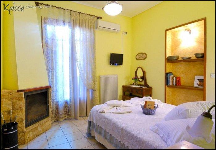 Προσφορά από 70€ ανά διανυκτέρευση με Ημιδιατροφή για 2 ενήλικες και 1 παιδί έως 5 ετών στο Gastronomy Hotel Kritsa
