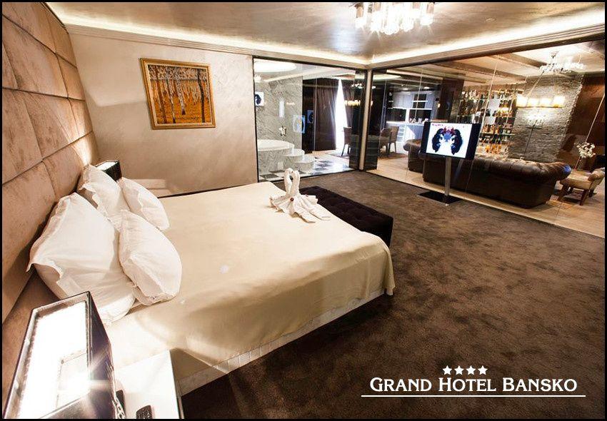 ALL INCLUSIVE διαμονη στο Bansko, στο 4* Grand Hotel Bansko με 132€ για 3 ημερες – 2 διανυκτερευσεις η με 198€ για 4 ημερες – 3 διανυκτερευσεις σε Luxury Room για 2 ενηλικες και 1 παιδι εως 6 ετων! Παρεχονται καθημερινα πλουσιo πρωινο, γευμα και δειπνο σε μπουφε! Happy hour το απογευμα με φρουτα, σαντουιτς, κεικ, ποτα! Απεριοριστη καταναλωση σε ποτα, κρασι, βαρελισιες μπυρες, αναψυκτικα, καφε φιλτρου, τσαι, χυμους και snacks! Δυνατοτητα…