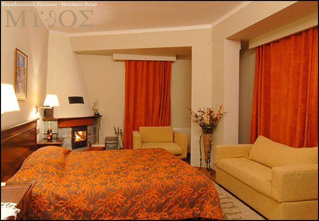 Διαμονη στο Ελατοχωρι Πιεριας στο Mythos Mountain Hotel με 59€ ανα διανυκτερευση με πρωινο η με 89€ με Ημιδιατροφη (πρωινο και γευμα η δειπνο σερβιριστο) σε δικλινο δωματιο με Τζακι-ξυλα για 2 ενηλικες και 1 παιδι εως 5 ετων! Παρεχεται late check-out κατοπιν διαθεσιμοτητας! Προσφερεται welcome drink! Δωρεαν χρηση του Spa (Σαουνα, Υδρομασαζ) για 1 ωρα! Η προσφορα ισχυει για διαμονη εως 26 Απριλιου