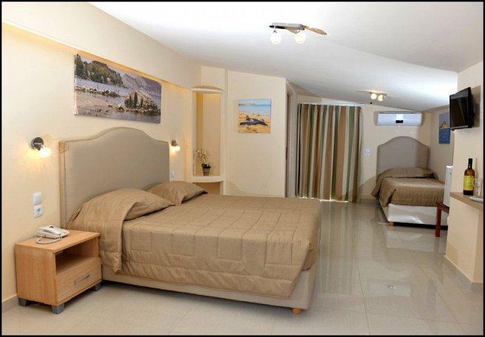 Προσφορά Πάσχα από 219€ για 3 διανυκτερεύσεις με Ημιδιατροφή, Αναστάσιμο Δείπνο και Οβελία για 2 ενήλικες και 1 παιδί έως 12 ετών στο Planos Beach Hotel