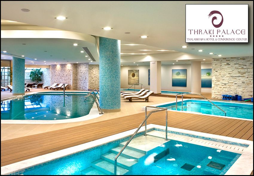 ALL INCLUSIVE Πρωτοχρονιά στο 5* Thraki Palace Thalasso & Wellness Spa στην Αλεξανδρούπολη με 450€ για 3 ή 550€ για 4 ή 658€ για 5 διανυκτερεύσεις για 2 ενήλικες και 2 παιδιά (το 1ο έως 12 ετών και το 2ο έως 6 ετών)! Παρέχεται Διπλό Εορταστικό Ρεβεγιόν (Παραμονή και Ανήμερα Πρωτοχρονιάς) με πλούσιο εορταστικό μπουφέ και Ζωντανή Μουσική! Απεριόριστη κατανάλωση